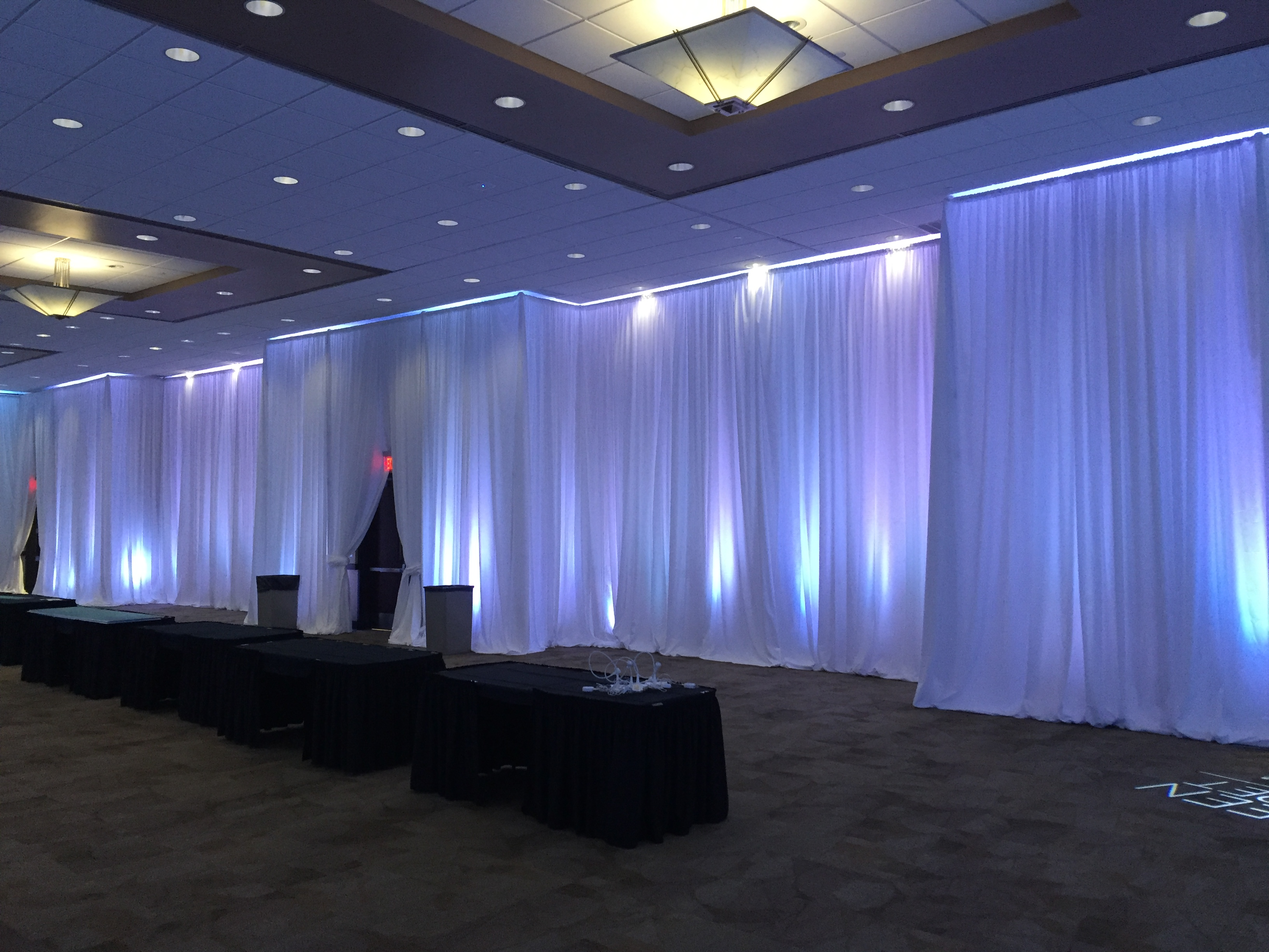 rental lighted for pittsburgh drapes custom drape rentals services ceiling events text pipe how swags and hang to no