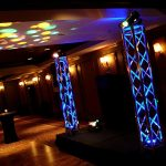 Truss with Moving Lights